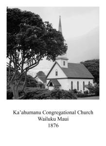 page 13 Maui Ka'ahumanu Congrgational Maui_1