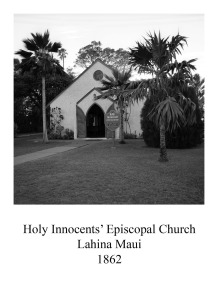 page 14 Holy Innocents Espiscopal Lahina Maui