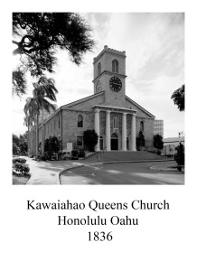 page 41 Honalulu Queens Church Honolulu Oahu
