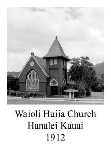 page 56 Waioli Huiia Church Hanalei Kaui