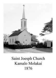 page 75 Saint Joseph Church Kamalo Molakai