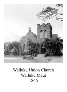 page 8 Wailuku Union Church Maui